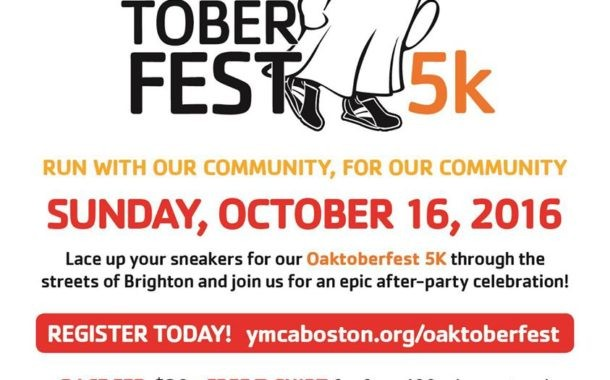 Oak Town YMCA OAKtoberfest 5K Race
