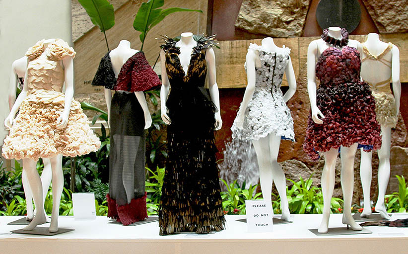 'Wearable Art' Exhibition at Copley Place